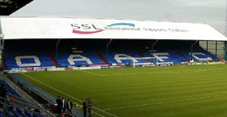 Boundary Park: Welcomes Newton back