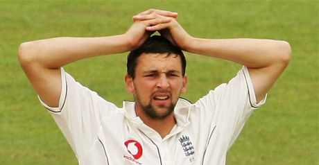 Harmison: back injury