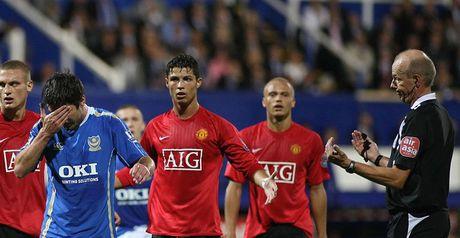 Ronaldo: Red card