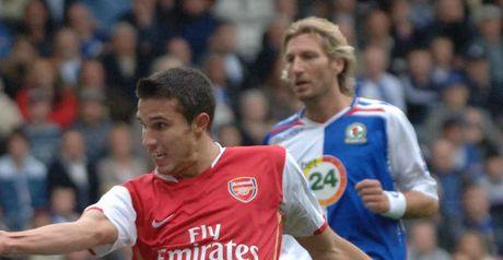 Van Persie: Opening goal