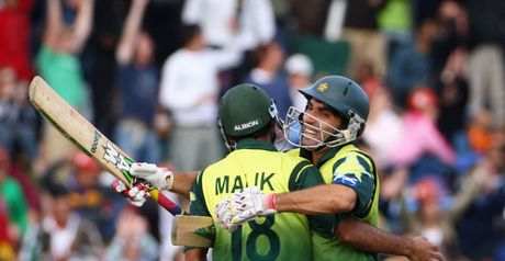 Finalists: Pakistan's Shoaib Malik and Misbah-ul-Haq