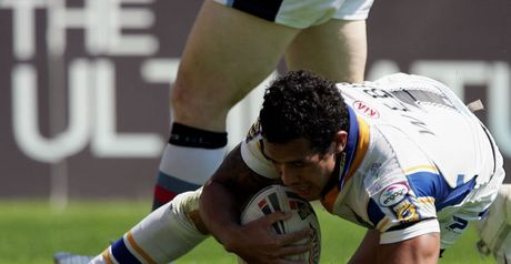 Webb: Grabbed the game's first try