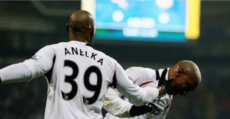 Anelka: Second-half brace