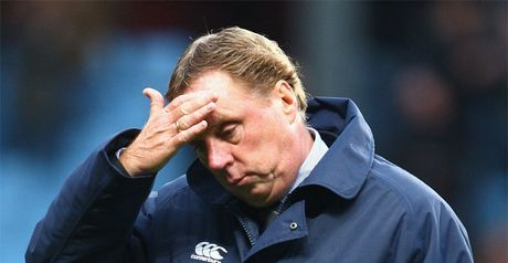 Redknapp: Disappointed