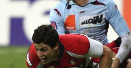 Allen scores Gloucester's first try