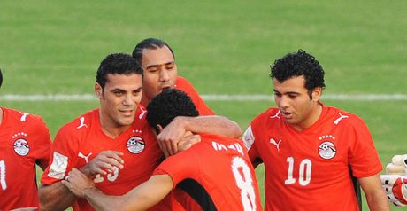 Egypt celebrate their opener