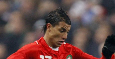 Chamakh: To lead Morocco line