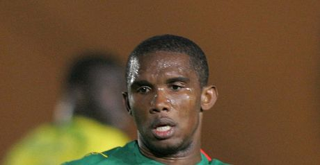Eto'o: Equalled record