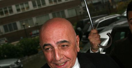 Adriano Galliani: The Milan vice-president has backed coach Massimiliano Allegri