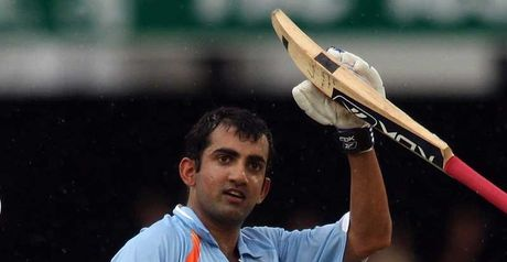 Gambhir: Shined before the rain arrived in Brisbane