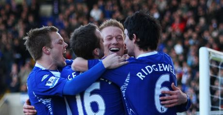 Forssell: Celebrates first of his three goals