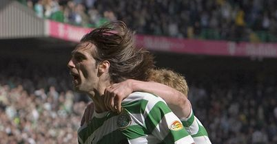 Samaras: Grabs crucial winner for Bhoys