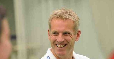 Moores: believes English cricket is heading back in the right direction