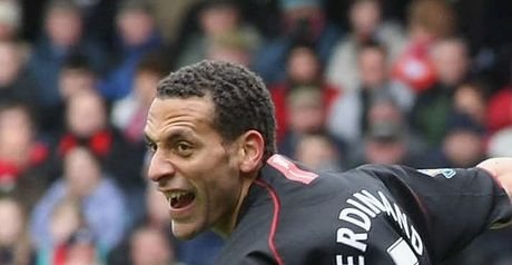 Ferdinand: May start against Roma
