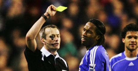 Drogba: Claims deliberate bookings