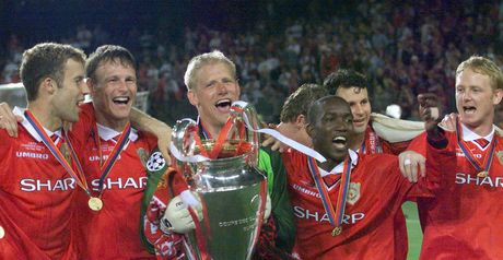 Manchester United: Stirring comeback won European Cup in 1999