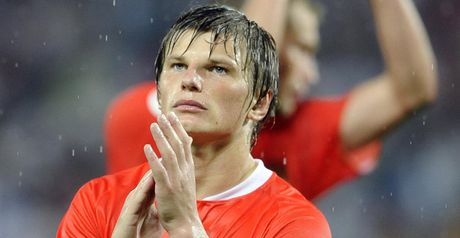 Arshavin: Netted a late third