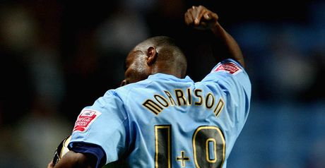 Morrison: headed home the only goal