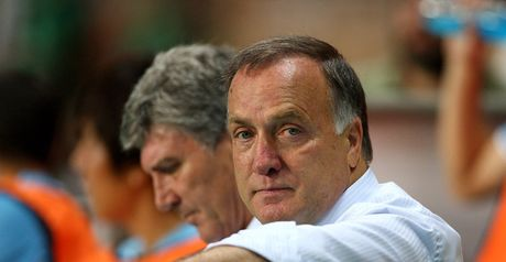 Advocaat: Unhappy with signing