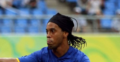 Ronaldinho: Keeps his place in Brazil squad for next three fixtures