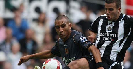 Fagan in action against Newcastle