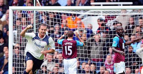 Davies celebrates his opener