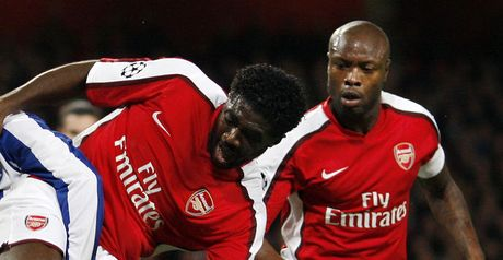 Toure and Gallas: Forming an impressive partnership