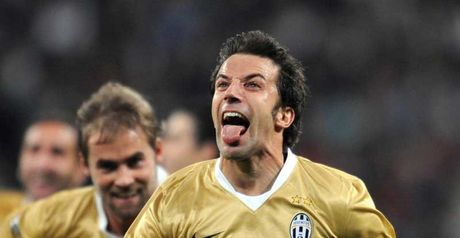 Del Piero: Double display