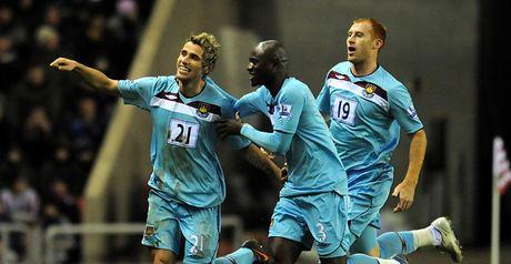 Behrami: Celebrates goal
