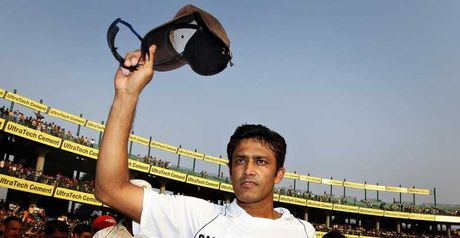 Kumble waves goodbye