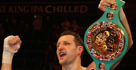 Froch: Wants to fight Taylor