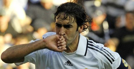 Raul: Clinching goal at Espanyol