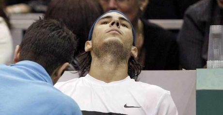 Nadal: Injured