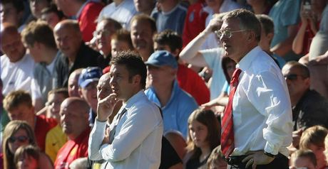 Sir Alex and Darren Ferguson: Father and son