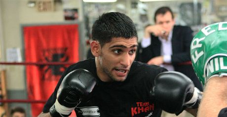 Khan: too quick, says Manny