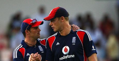 Great asset: Strauss (left) retains faith in 'freelancer' Flintoff