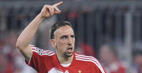 Ribery: United interest