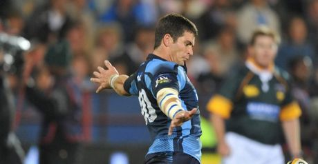Kicking machine: Morne Steyn