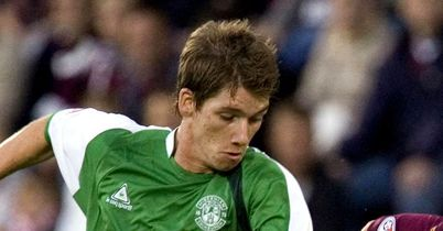 McCann: Resigned to leaving Hibs when his contract expires in the summer