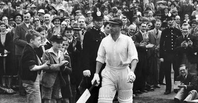 Bradman: dominated an era