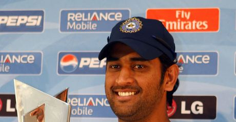 Dhoni: upbeat on title defence