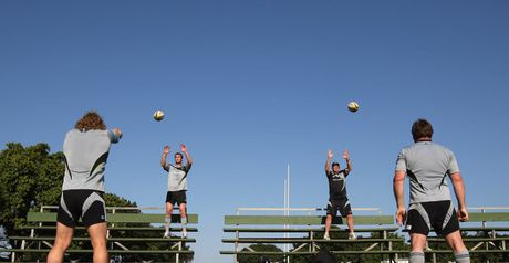 All Blacks: In training