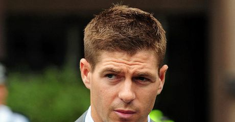 Gerrard: Cleared of affray