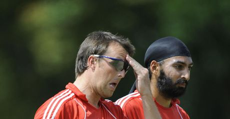 Swann (left) and Panesar: united for Cardiff mission