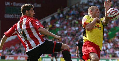 Evans: scored first goal for the Blades