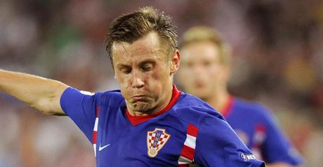Olic: On target for Croatia