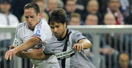 Ribery: No way through against Diego