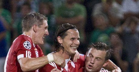 Van Buyten: Broke the deadlock