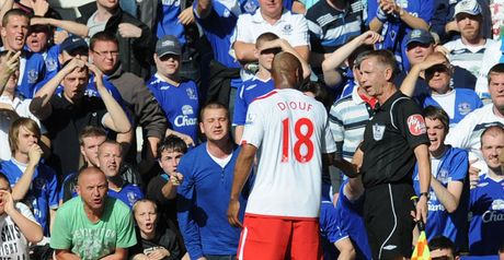 Diouf: Hits back at criticism