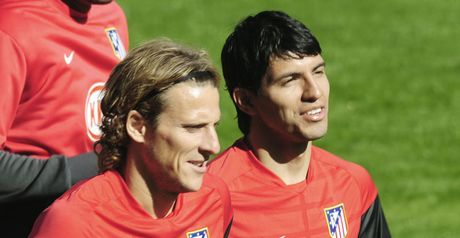 Forlan & Aguero: Tipped to deliver